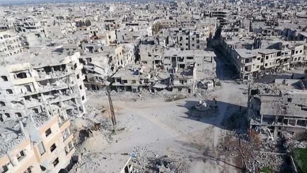 Siri - Regjimi i Esadit dhe përkrahësit e tij vazhdojnë me sulme ndaj Gutës Lindore   TRT  Shqip