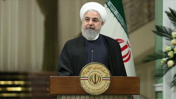Ruhani akuzon Amerikën për terrorizëm dhe për strehim të liderëve të DAESH-it | TRT  Shqip