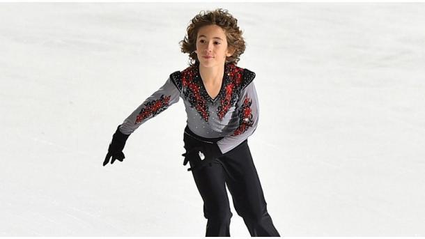 【フィギュアスケート】 エフェ君が若干12歳で世界記録を樹立 | TRT  日本語