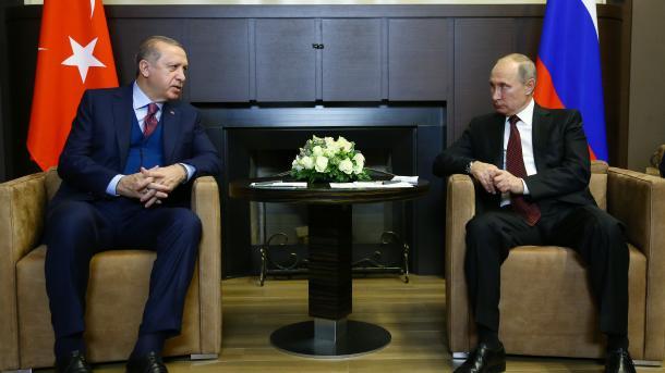 Russland und Türkei für politische Lösung in Syrien
