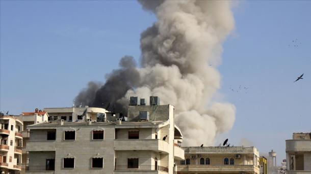 Vazhdojnë sulmet e regjimit të Esadit në Zonën e Çtensionimit në Idlib   TRT  Shqip