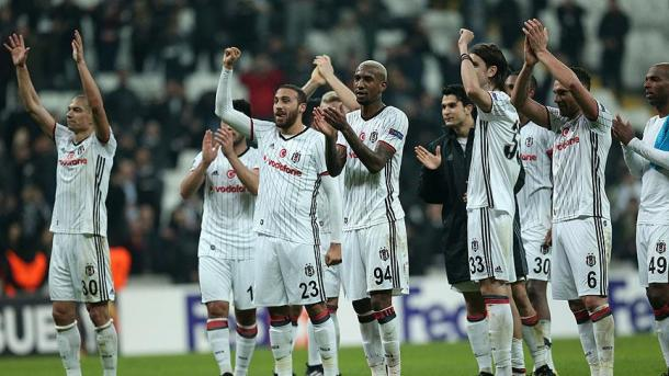 Besiktas a validé son ticket pour les quarts de finales de l'UEFA Europa League