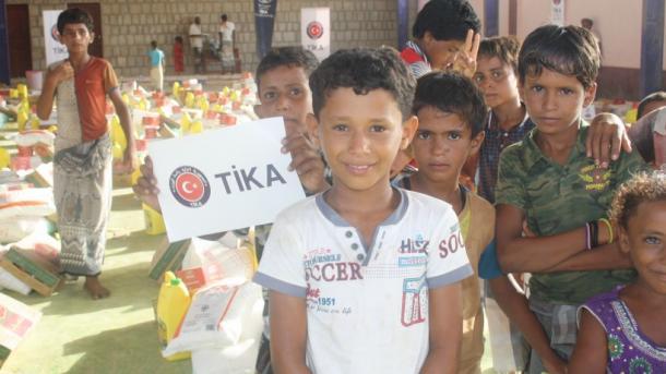 TIKA vazhdon ndihmat dhe projektet mbështetëse për Jemenin   TRT  Shqip