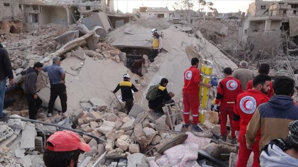 Sulmi ndaj civilëve në Idlib, raportohen shumë të vrarë dhe të plagosur   TRT  Shqip