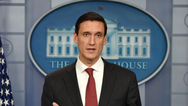 Maison-Blanche démission du conseiller à la sécurité intérieure de Trump