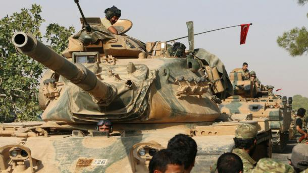 Syrie Les terroristes du PYD ont attaqué 2 chars turcs