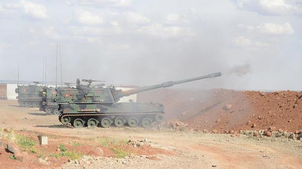 Турецкий МИД сообщил ноту обоперации вАфрине генконсульству Сирии