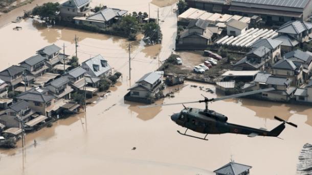 Tufão atinge o oeste do Japão: 24 feridos