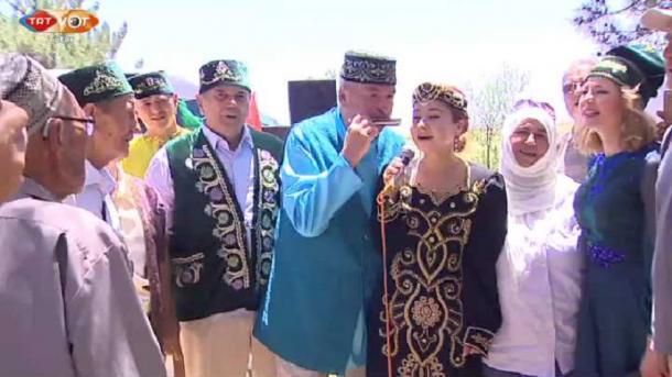 İskeşähärdä tatar awılında Sabantuy | TRT  Tatarça