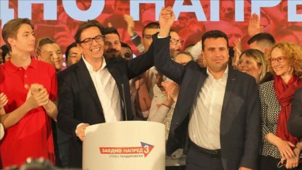 Maqedonia e Veriut – Pendarovski premton se do të jetë presidenti i të gjithëve | TRT  Shqip