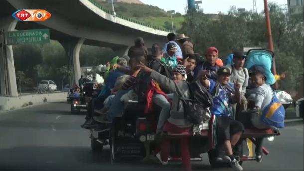 Meksikë – Emigrantët vazhdojnë rrugëtimin e shpresës drejt SHBA-së (me titra) | TRT  Shqip