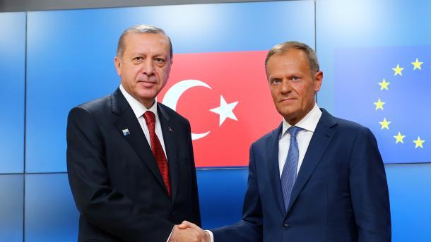 Erdogan und EU kommen zusammen