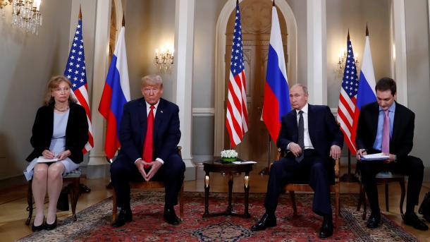 Helsinki – Trumpi përpara takimit me Putinin: Gjëra të mira do të ndodhin, jo të këqija | TRT  Shqip