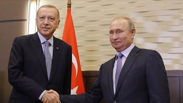 Poutine et Erdogan scellent leur alliance grâce à un gazoduc