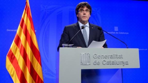 Puigdemont: Shpallja e pavarësisë së Katalonjës mund të vijë brenda pak ditësh | TRT  Shqip