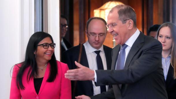 Venezuela: Moscou fera tout pour empêcher une intervention US