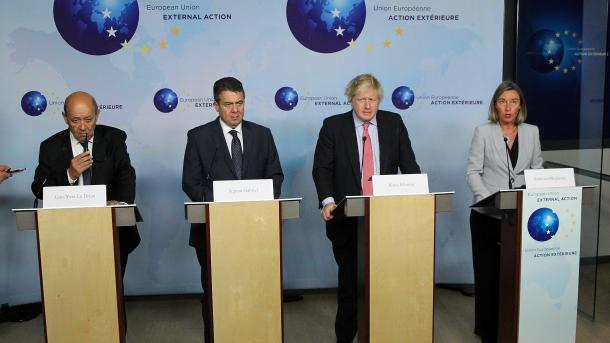 Atomabkommen: EU-3 stärken Iran den Rücken