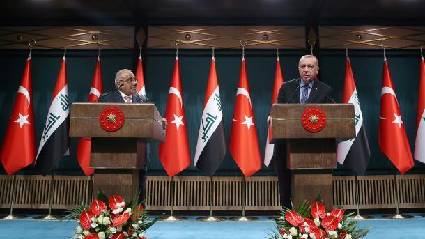 Turqi-Irak zgjerojnë bashkëpunimin ushtarak   TRT  Shqip