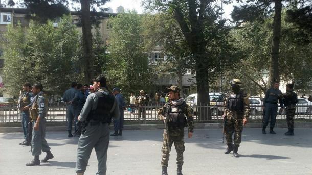 Explosión cerca de la embajada de EEUU en Kabul