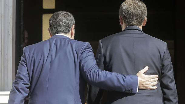 Macron ruft zu europäischen Investitionen in Griechenland auf