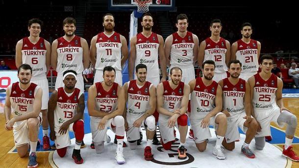 土耳其国家男子篮球队明日与乌克兰进行对战 | 三昻体育