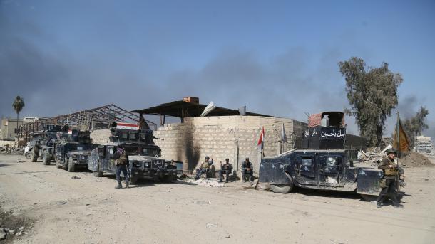 Комплекс правительственных зданий вМосуле освобожден отбоевиков ИГ— МВД Ирака