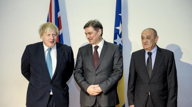 Sastanak Zvizdić-Johnson: Odnosi izmeđi BiH i Ujedinjenog Kraljevstva vrlo dobri