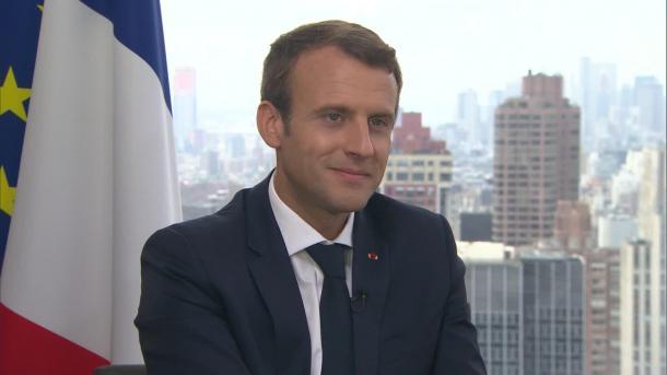 Macron droht in Syrien mit Angriffen