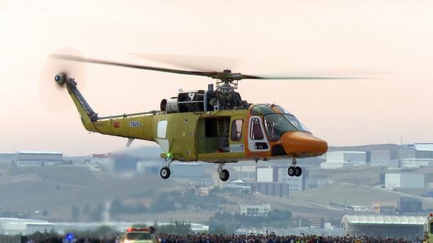 Helikopteri kombëtar turk, T625 kaloi me sukses testin e fuqisë së motorit | TRT  Shqip
