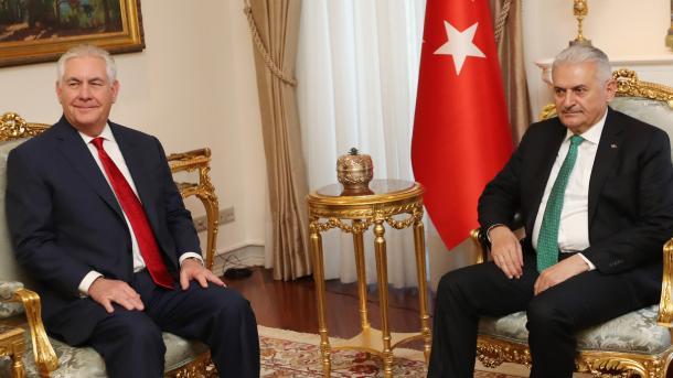 Тиллерсон назвал Турцию основным союзником США вборьбе сИГ