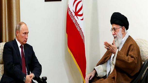 Wladimir Putin besucht heute den Iran