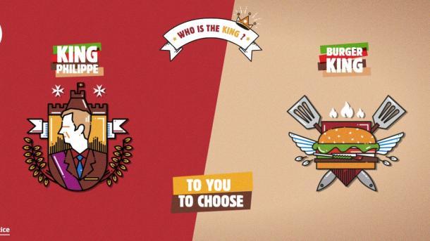 Anuncio de Burger King enfurece al rey de Bélgica