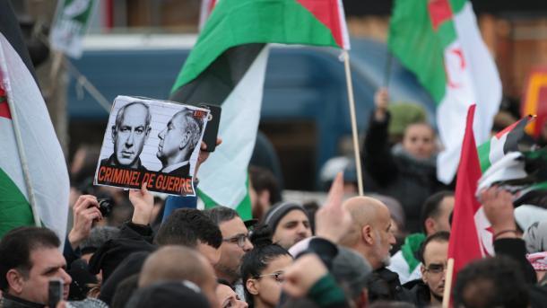 Manifestations en France contre la venue de Netanyahu dimanche à Paris