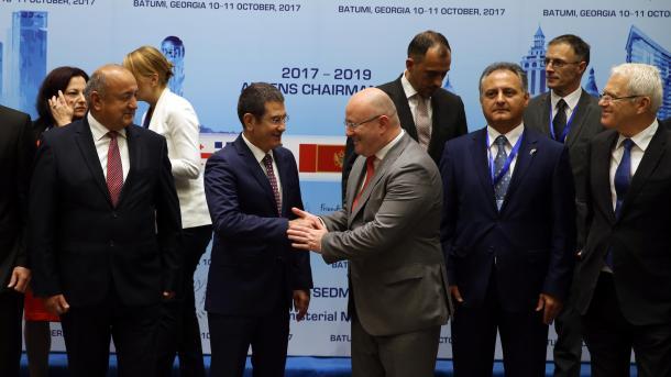 ВБатуми открылось совещание Совета министров обороны стран Юго-Восточной Европы