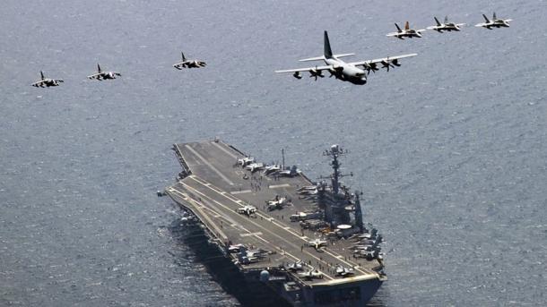 Bombarderos supersónicos de EEUU sobrevolaron península coreana en un aviso a Pyongyang