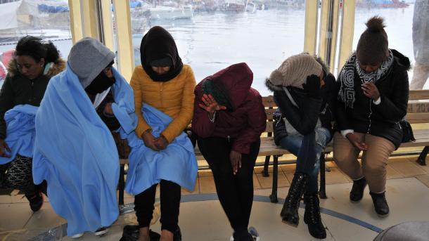 土耳其抓获试图进入希腊的35名偷渡客