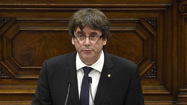 Puigdemont descarta convocar elecciones anticipadas en Cataluña