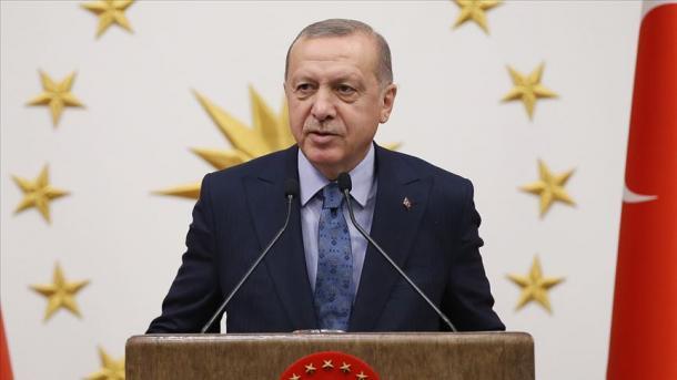 Erdogan: Turqia punon me këmbëngulje për anëtarësimin e plotë në BE   TRT  Shqip