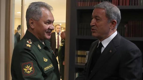 Ministri rus i mbrojtjes vazhdon kontaktet në Turqi   TRT  Shqip