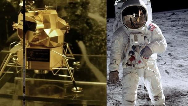 アメリカ】 人類初の月面着陸の...