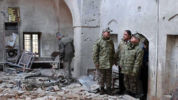 Ракетный обстрел Турцией позиций сирийских курдов вАфрине