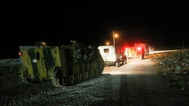 Forcat e Armatosura Turke në brendësi të Idlibit për vrojtimin e armëpushimit | TRT  Shqip