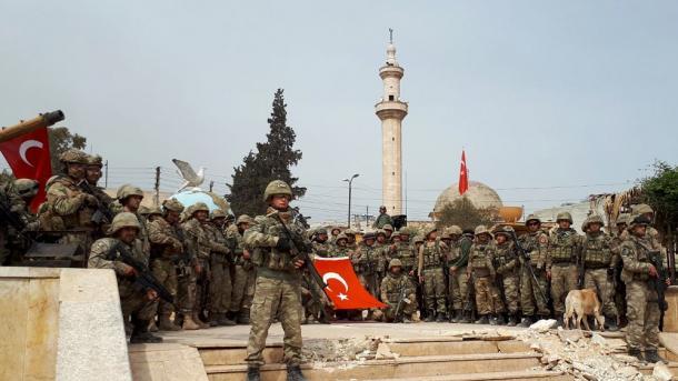 Ushtria turke njofton vendosjen e kontrollit të plotë në Afrin të Sirisë   TRT  Shqip