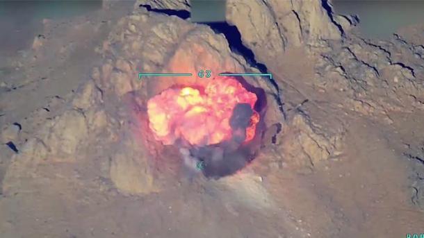 Avionët turq bombarduan pozicionet e PKK-së në veri të Irakut | TRT  Shqip