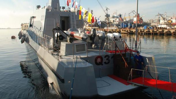 Des navires turcs dans la marine qatarie