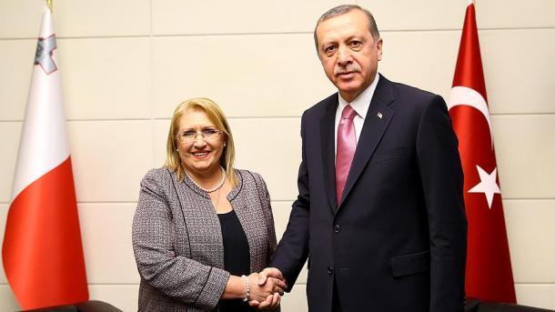 رئيسة مالطا تزور تركيا   TRT  Arabic