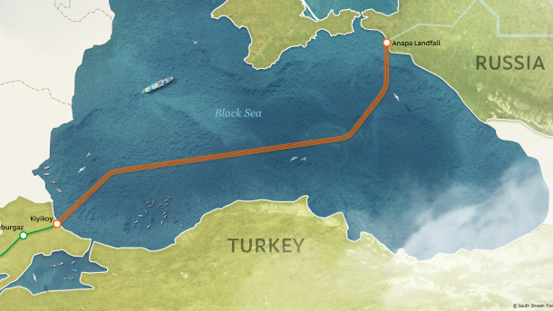 O Turkish Stream avança rapidamente