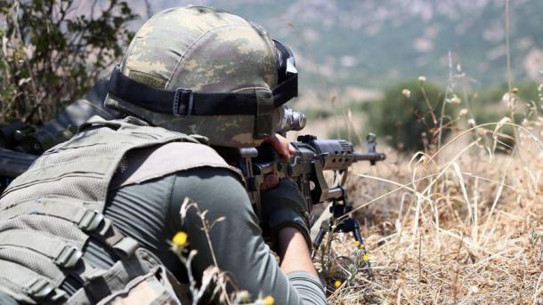 Ushtria turke i kundërpërgjigjet zjarrit provokues të PYD/YPG/PKK | TRT  Shqip
