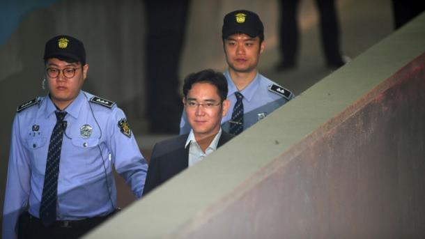 Berufungsgericht milderte Strafe für Samsung-Chef Lee