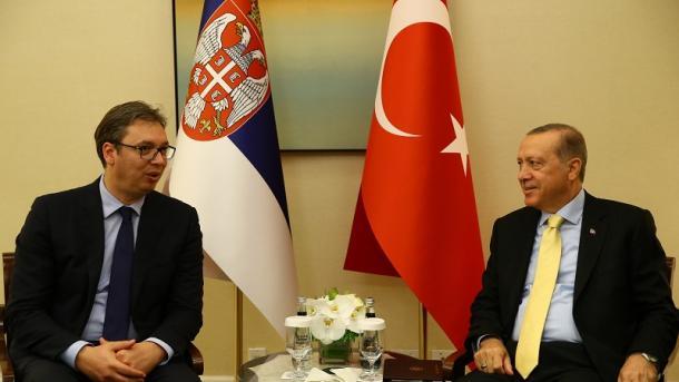 Руководитель МИД Сербии на праздничном ужине спел Эрдогану натурецком